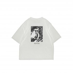 FIFTH ANNIV TEE WHT2
